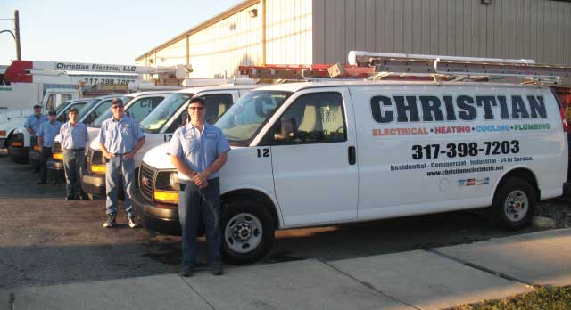 Christian Electric, LLC has certified electricians to take care of your rewiring or electrical service repair near Waldron IN.